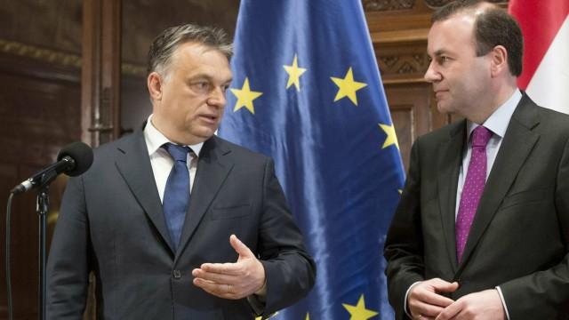 Politik Ungarn Streit in der Europäischen Volkspartei
