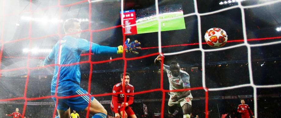 Champions League - Achtelfinale 2019 zwischen Bayern München und dem FC Liverpool