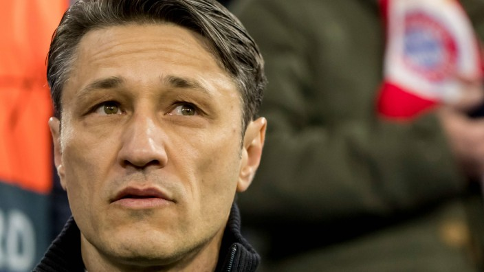 FC Bayern - Trainer Niko Kovac beim Champions-League-Spiel gegen den FC Liverpool