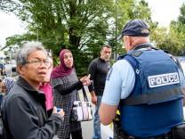 Christchurch In Lockdown Following Fatal Mosque Shooting