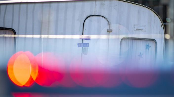 Missbrauchsfall Lügde - Wohnwagen auf Campingplatz