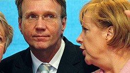 Merkel Pofalla Schavan Atomdebatte Gabriel dpa