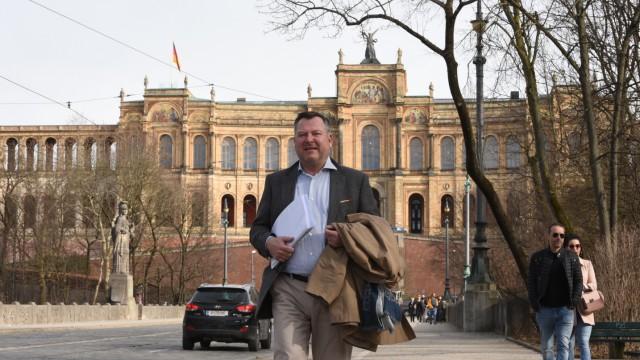 Politik in München Landtag