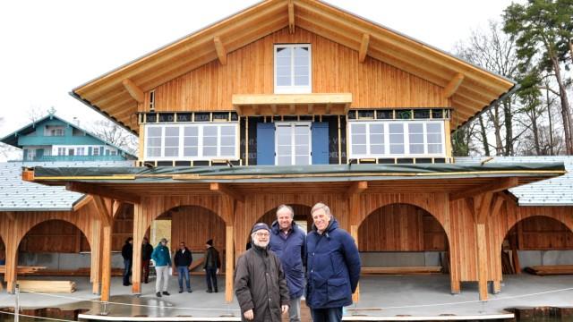 Münchner Segelclub : Neues Bootshaus