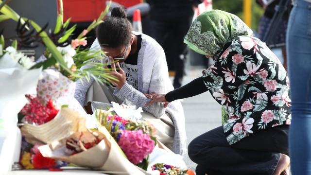 Nach Attentat in Christchurch, Neuseeland