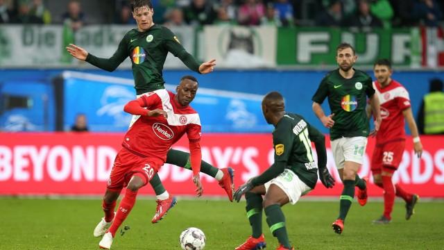 VfL Wolfsburg v Fortuna Duesseldorf - Bundesliga