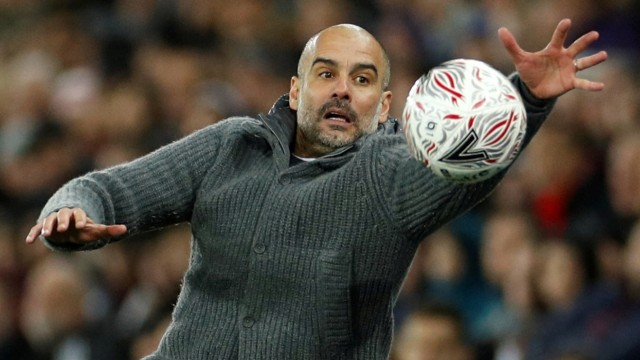 FA Cup Quarter Final - Swansea City v Manchester City