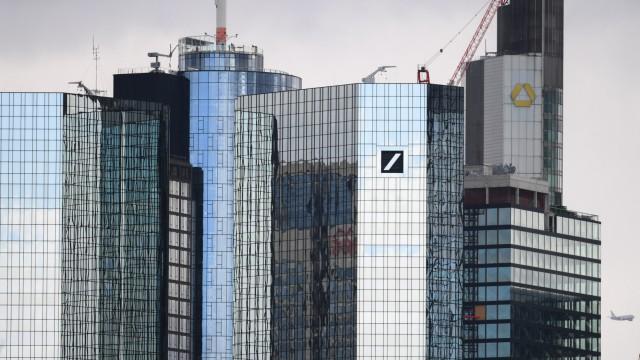 Deutsche Bank und Commerzbank in Frankfurt