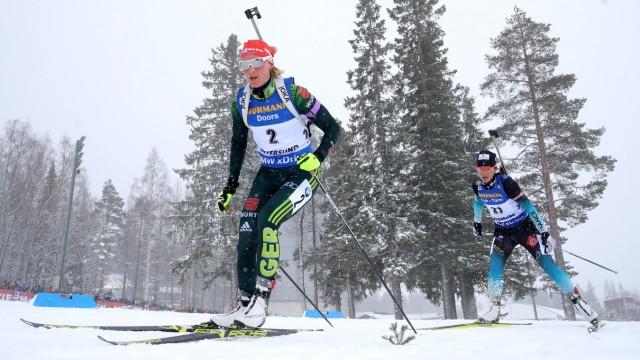 IBU Biathlon World Championships - Men's and Women's Mass Start