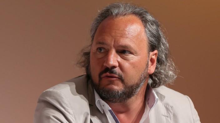 Christoph Vilanek CEO freenet AG bei der Eroeffnung ANGA COM und Medienforum NRW Messe Koeln 30 0