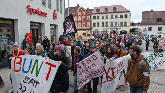 Ebersberg Protest gegen Rechts