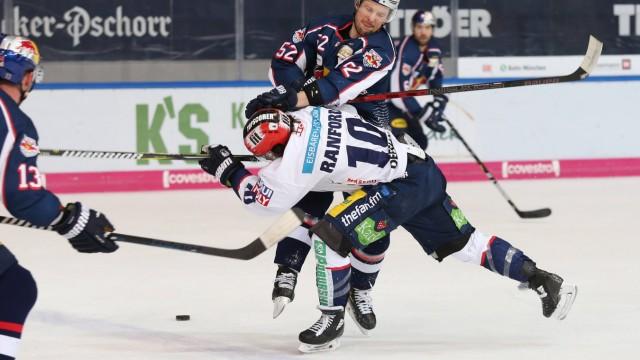Ice hockey Eishockey DEL RB Muenchen vs Eisbaeren MUNICH GERMANY 17 MAR 19 ICE HOCKEY DEL D