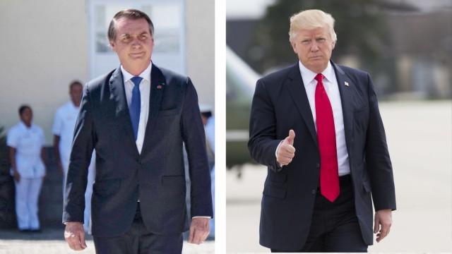 Politik Brasilien Interview am Morgen: Bolsonaro bei Trump