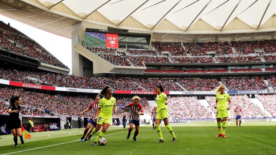 Warum der Frauenfußball in Spanien boomt