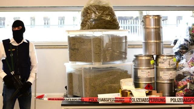 Bayerische Polizei zerschlägt Drogenhändlerring, 2019