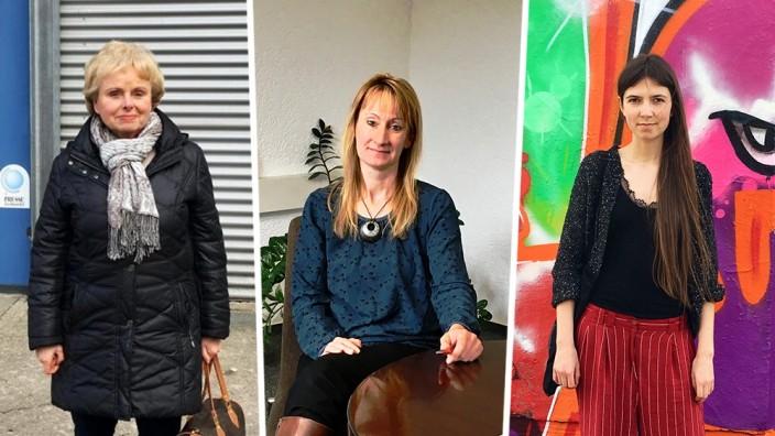 Wera Hesse, Sandy Lehmann und Alina Sonnefeld
