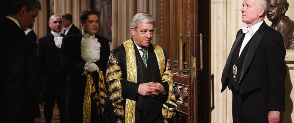Queen Elizabeth II Attends The State Opening Of Parliament