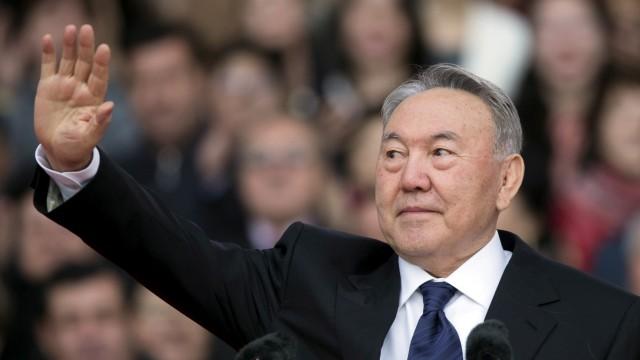 Nursultan Nasarbajew Kasachstan