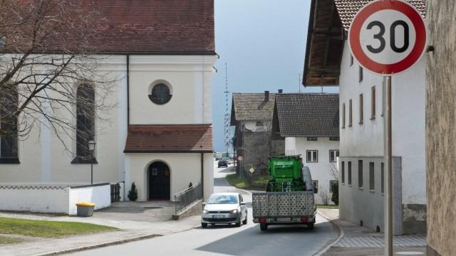 Grafing Tempolimit in Straußdorf