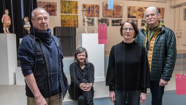 Kunstprojekt zum Thema Menschsein im SchauRaum im Ackermannbogen