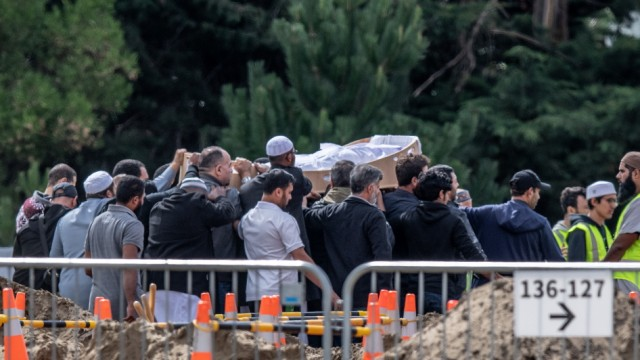First Burials Begin For Victims Of Christchurch Mosque Attacks