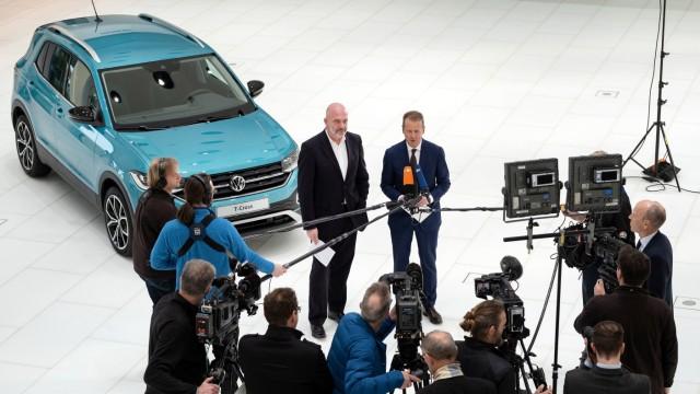 Volkswagen - Aufsichtsratssitzung