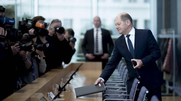 Olaf Scholz Haushalt 2019 DEU Deutschland Germany Berlin 20 03 2019 Olaf Scholz Finanzminister