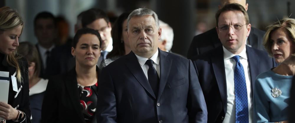 EVP-Spitze schlägt Suspendierung Orbans vor