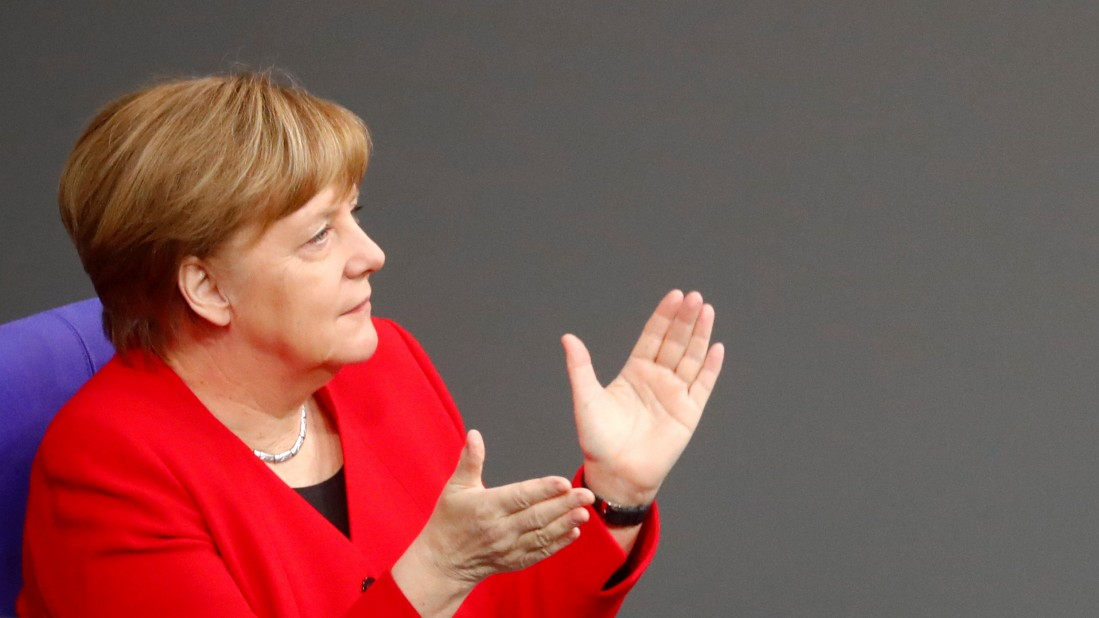 Merkel im Bundestag: Live-Stream