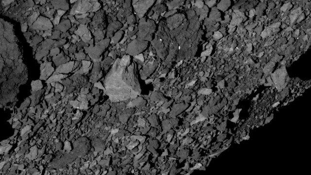 Oberfläche des Asteroiden Bennu