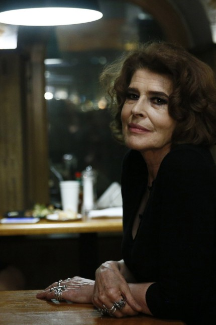 MOSCOW RUSSIA - JANUARY 26 2018 French actress and director Fanny Ardant at the Moscow premiere o