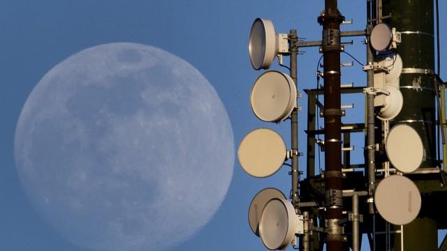 Technologie 5G-Netzwerk in Europa