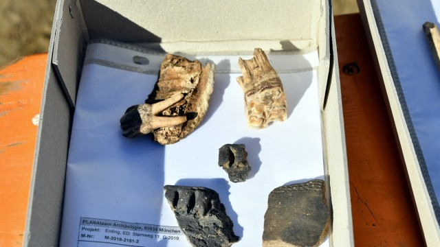 Erding Archäologische Funde in Erding