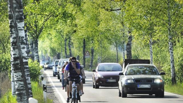 Dießen Birkenallee Verkehr