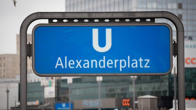 U-Bahnhof am Alexanderplatz