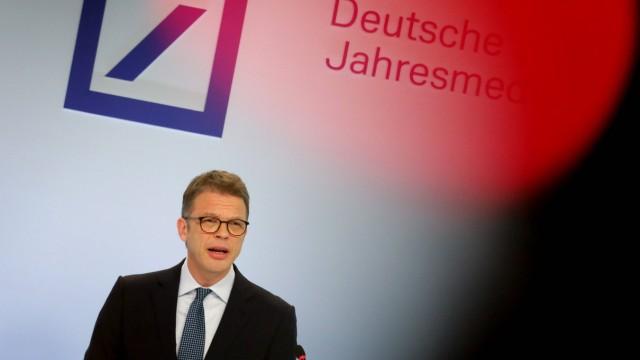 01 02 2019 Frankfurt DEU Jahrespressekonferenz der Deutsche Bank AG Christian Sewing Vorsitzend