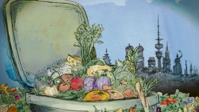 MRB Illustration Lebensmittel