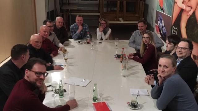 Gründungsversammlung der Grünen in Estenfeld bei Würzburg