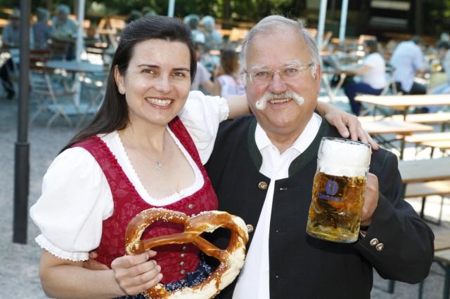 Stephanie Spendler und Wiggerl Hagn, 2013