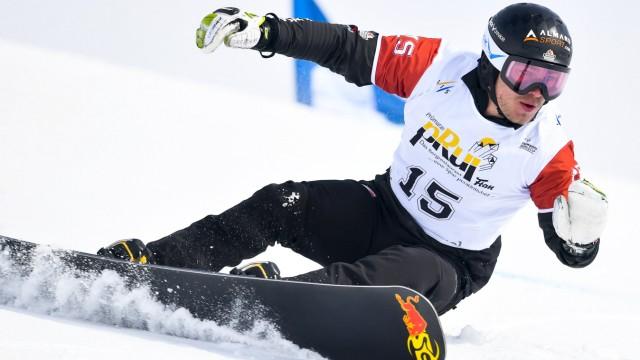Snowboard Weltcup in Scuol