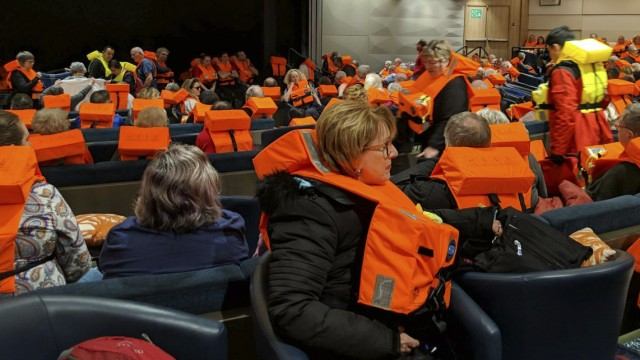 Unglück und Unfall Küste vor Norwegen