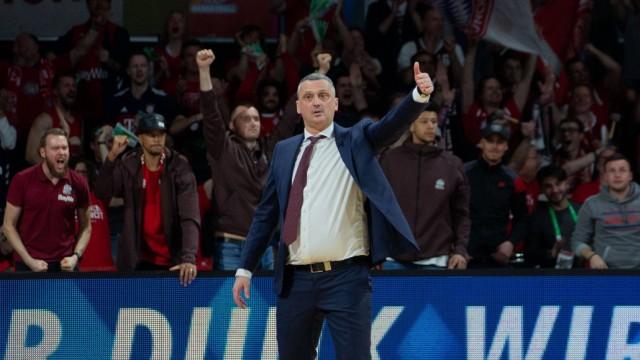 FCBB Coach Dejan RADONJIC FCB Basketball FC Bayern FCB FC Barcelona Barca Lassa BAL Eu; Basketball