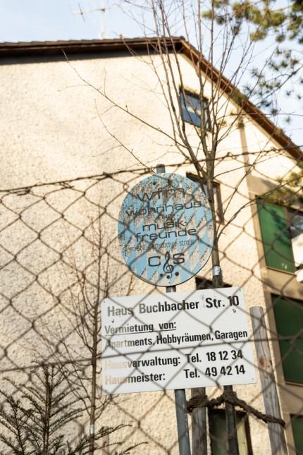 Das Haus für Musiker in der Buchbacher Straße in Berg am Laim am 25.02.2019 in München.