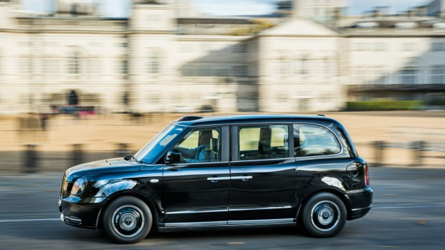 LEVC TX Ecity London Taxi, Electric Cab, Elektrisches Taxi