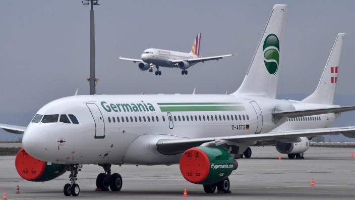 Fluggesellschaft Germania insolvent