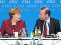 CDU And CSU Approve Joint Policy Platform For European Elections
