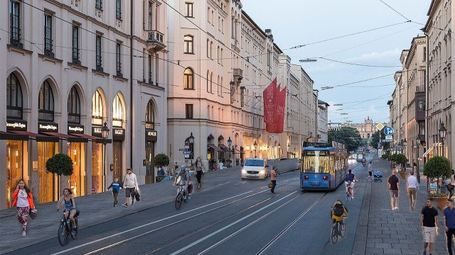 Grünen-Antrag zur autofreien Innenstadt