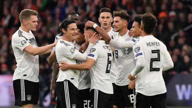 Fußball-EM 3:2 gegen die Niederlande