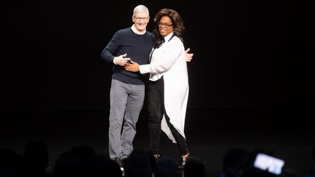 Apple event, with expected streaming announcement