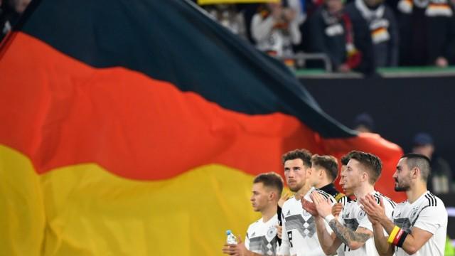 Deutsche Nationalmannschaft Länderspiel in Wolfsburg